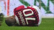 Rigore per il Milan contro il Catania per un fallo di Lanzafame
