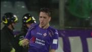 Joaquin per Gonzalo Rodriguez che segna il goal del pareggio: tutto da rifare per il Milan