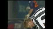 Jorgensen sfiora il goal contro il Brescia