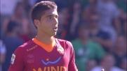 José Angel scalcia Biondini: l'arbitro espelle il terzino della Roma