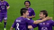 Jovetic, goal alla Lazio con un bel tiro da fuori