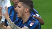 Jovetic pareggia i conti con l'Udinese con un goal a porta vuota