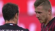 Botta di Kucka su punizione, Strakosha para e salva la Lazio