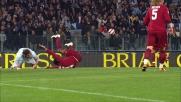 Juan affossa Rolando Bianchi: rigore per la Lazio nel derby di Roma