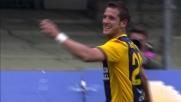 Juanito Gomez leva la ragnatela con un goal da cineteca