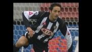Seric colpisce Di Michele in area, rigore per l'Udinese