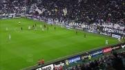 Juventus vicino al goal contro il Genoa: traversa di Chiellini