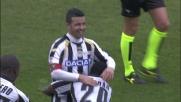 Il goal di Di Natale porta a quattro le marcature dell'Udinese contro il Palermo