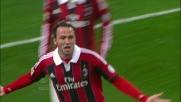 Pazzini realizza una doppietta che vale la vittoria contro il Catania