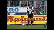 Zidane sfiora il goal su punizione, Roccati si salva