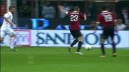 De Rossi respinge col braccio il tiro di Ambrosini: rigore per il Milan