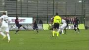 Perico ferma con la mano il tiro di Hernandez e provoca un rigore per il Palermo