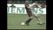 Zidane fa un tunnel pazzesco su Boban, poi cerca il gran goal di pallonetto