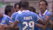 Raddoppio Lazio: Ledesma supera Pegolo da calcio di rigore