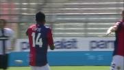 Il goal di Cofie porta in vantaggio il Genoa al Tardini