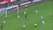 Abate spreca una clamorosa occasione da goal contro il Napoli