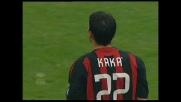Kakà dagli undici metri porta in vantaggio il Milan contro il Palermo
