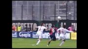 Kaladze colpisce Suazo in area: rigore per il Cagliari