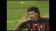 Kaladze realizza il goal del pareggio per il Milan a Marassi
