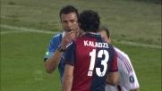 Kaldze atterra fallosamente Ibrahimovic nell'area del Genoa
