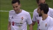 Kalinic-Ilicic, la coppia d'oro della Fiorentina confeziona il goal del 2-0