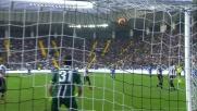 Karnezis blinda la porta dell'Udinese e dice 'no' al tiro di Dionisi