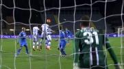 Karnezis respinge la gran botta di Paredes da calcio di punizione