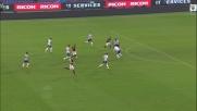 Karnezis vola e nega la gioa del goal ad Iturbe