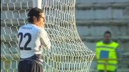 Super parata di Viviano che salva il Bologna dal goal di Floccari
