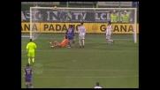 Errore clamoroso di Pazzini: solo traversa nel derby col Livorno
