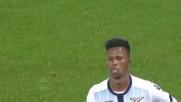 Keita sblocca il match del Franchi fra Fiorentina e Lazio con un goal da posizione ravvicinata