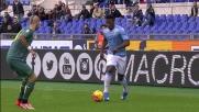 Keita spinge la Lazio con un cross pericoloso che taglia in due la difesa del Palermo