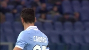 Stekelenburg si supera parando in angolo la botta di Candreva