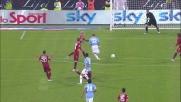 Kjaer aggancia Brocchi in area e provoca il rigore per la Lazio