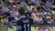 Klose in goal con un destro di prima intenzione: Lazio sul velluto al Braglia col Carpi