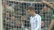 Klose manca l'appuntamento con il goal al Mapei Stadium: conclusione a lato