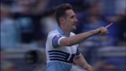 Klose non perde il vizio: di testa realizza il goal del 2-0 sull'Empoli