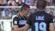 Klose realizza il goal per la doppietta personale a Pescara