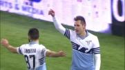 Klose realizza il goal vittoria in Lazio-Milan