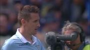 Klose scatenato e ancora in goal per la Lazio contro il Bologna