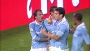 Klose segna il goal vittoria contro l'Inter in scivolata