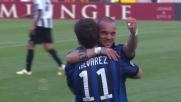 Alvarez segna e chiude la partita al Friuli
