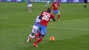 Koulibaly ferma Felipe Anderson con un bel tackle