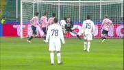 Kozak segna il goal dell'orgoglio laziale al Palermo