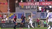 Rovesciata fuori di Borriello in Genoa-Inter