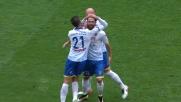 Kragl sorprende Donnarumma da oltre 30 metri: è il goal del 2-0 per il Frosinone al Meazza