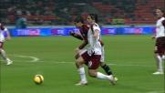 Krajcik atterra Pato e il Milan ottiene un calcio di rigore contro la Reggina