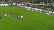 Un rigore di Pazzini porta in vantaggio la Fiorentina sulla Reggina