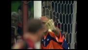 Pirlo è implacabile su punizione e realizza il goal del 3-1 sul Cagliari