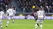 Kucka provoca un brivido allo Juventus Stadium. La sua conclusione però termina alta sopra la traversa